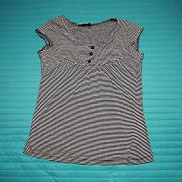 Отдается в дар полосатый топ футболка (XS-S)