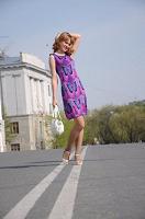 Отдается в дар Платье летнее, р-р 40