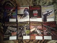 Отдается в дар 8 разных журналов RIFLEMAN на английском языке