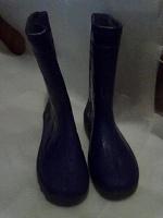 Отдается в дар Сапоги детские резиновые литые р. 33 синие