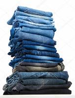 Отдается в дар Джинсовая одежда — низ