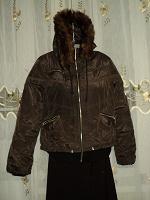 Отдается в дар куртка теплая с капюшоном