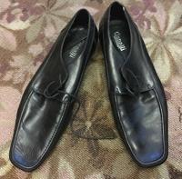 Отдается в дар Мужские туфли, размер 44, кожа