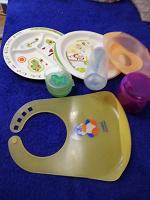 Отдается в дар Посуда детская пластик