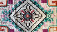 Отдается в дар Вышивка крестиком и нитки мулине