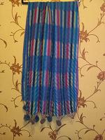 Отдается в дар Широкие шарфы, палантины