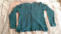 Отдается в дар Дарю свитер женский изумрудно-зеленый размер 48