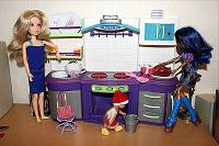 Отдается в дар Кухня для кукол