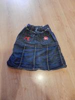 Отдается в дар Джинсовая юбка для девочки