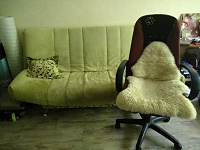 Отдается в дар Диван и кресло.