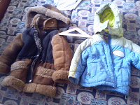 Отдается в дар Детское зимнее 86-96