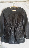 Отдается в дар Куртка из кожзаменителя, 44 размер