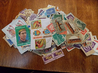 Отдается в дар Куча марок