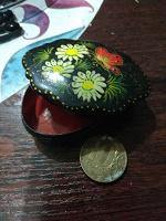 Отдается в дар Миниатюрная шкатулка с бабочкой