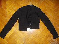 Отдается в дар Кофта черная теплая, размер 40