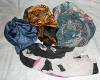 Отдается в дар Платки и шарфик