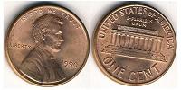 Отдается в дар 1 цент США.
