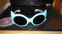 Отдается в дар Детские очки в виде кошачьей мордочки
