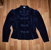 Отдается в дар Шикарный бархатный пиджак