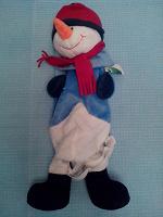 Отдается в дар рюкзак — снеговик