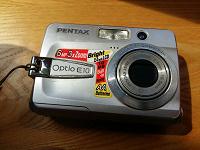Отдается в дар Фотоаппарат Pentax Optio E10