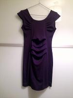 Отдается в дар Темно-сиреневое платье р.42-44