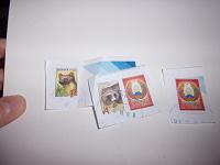 Отдается в дар Белорусские марки с конвертов
