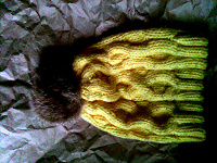 Отдается в дар Шапка желтая — передар
