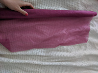 Отдается в дар Ткань в рулоне икеа