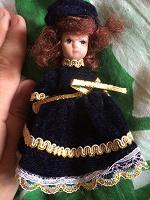 Отдается в дар Куколка коллекционная
