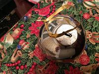 Отдается в дар Старинный елочный шарик