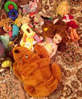 Отдается в дар Мешок игрушечного барахла