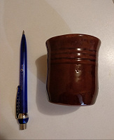 Отдается в дар Стаканчик керамика
