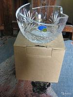 Отдается в дар Новая вазочка из хрусталя