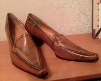 Отдается в дар Туфли женские итальянские, кожаные