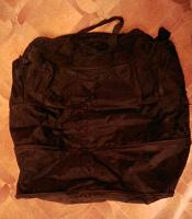 Отдается в дар Большая черная сумка (раскладывается)