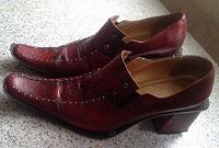 Отдается в дар ВИНТАЖ-Женские ботинки