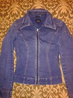 Отдается в дар Курточка джинсовая Trussardi XS