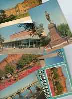Отдается в дар Два набора открыток: Новокузнецк и Минусинск
