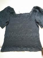 Отдается в дар Вязанная летняя блуза