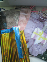 Отдается в дар сумочки и пакетики для подарков