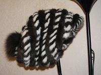 Отдается в дар норковая итальянская шапка Simonetta Ravizza