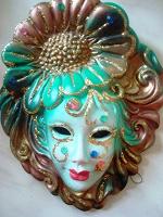 Отдается в дар маска венецианская