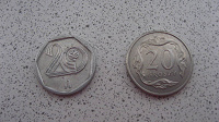 Отдается в дар Монетки 2 по 20