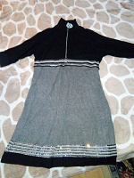 Отдается в дар Трикотажное платье размер 50