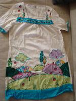 Отдается в дар Платье с вышивкой