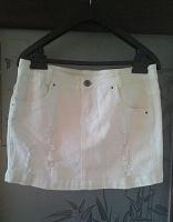 Отдается в дар Мини-юбка джинсовая