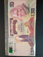 Отдается в дар Купюра и монеты Замбия