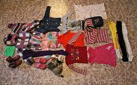 Отдается в дар Пакет вещей на девочку 5-8 лет