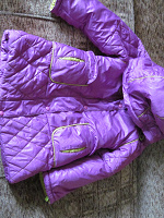 Отдается в дар Куртка детская с косяком.